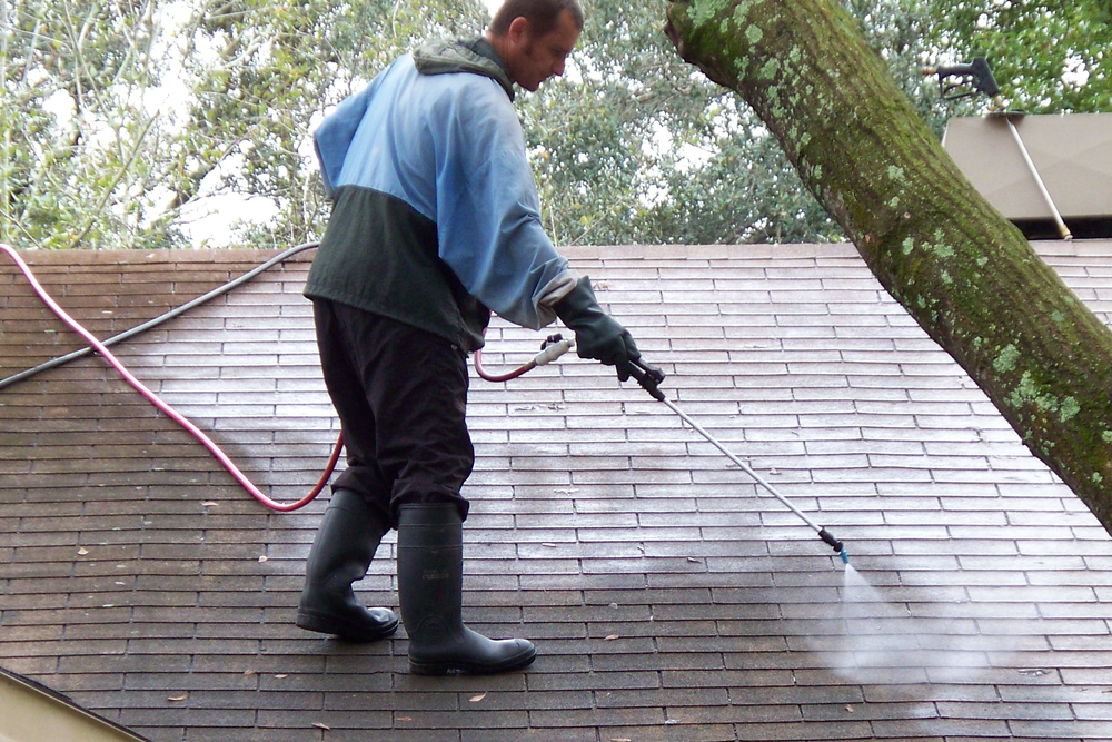 Our Process For Roof Cleaning